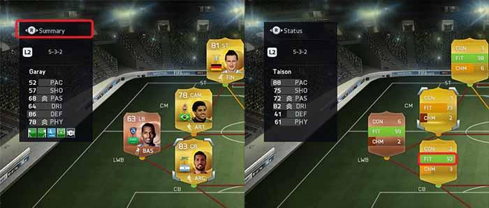 Guia de Fitness para FIFA 15 Ultimate Team