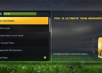 Guia Básico das Manager Tasks em FIFA 15 Ultimate Team