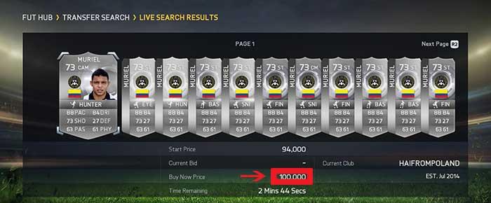 As Dez Regras de Ouro de Trading em FIFA 15 Ultimate Team
