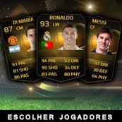 Guias de FIFA 15 Ultimate Team - Escolher Jogadores