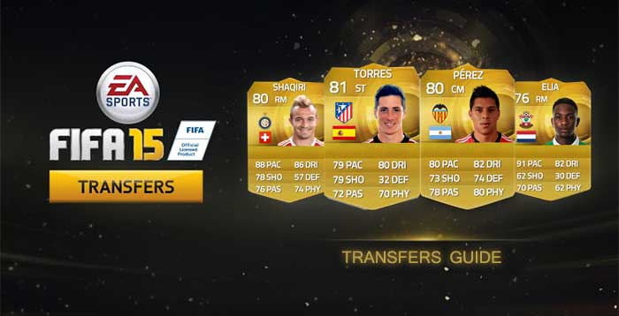 Guia de Transferências de Inverno de FIFA 15 Ultimate Team