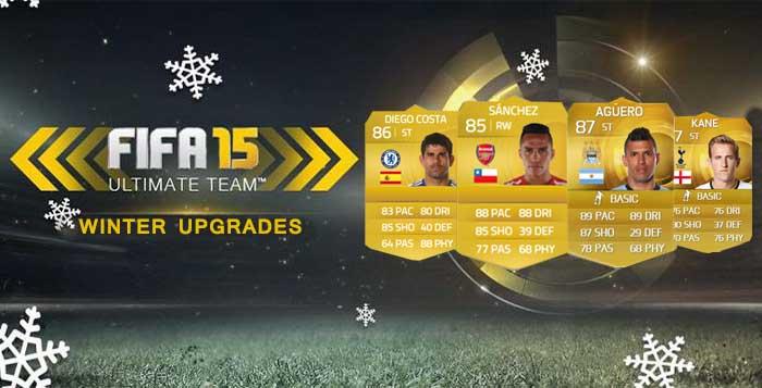 Upgrades de FIFA 15 em cada Liga