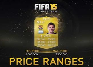 EA Limita Preços das Cartas de FIFA 15 Ultimate Team