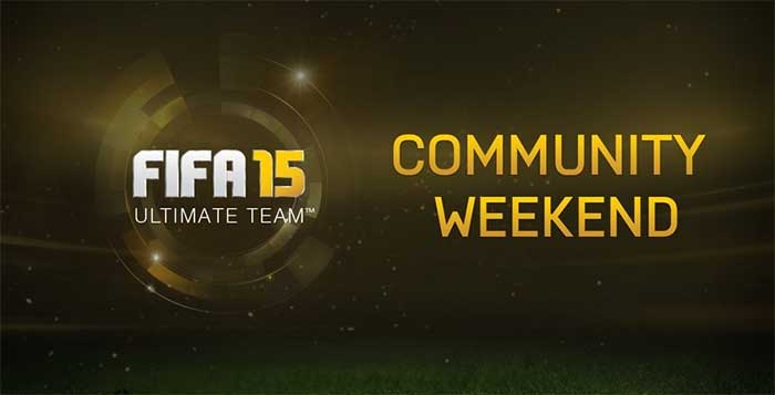 Community Weekend para FIFA 15 Ultimate Team