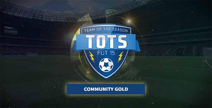 Community Team of the Season de Ouro de FIFA 15