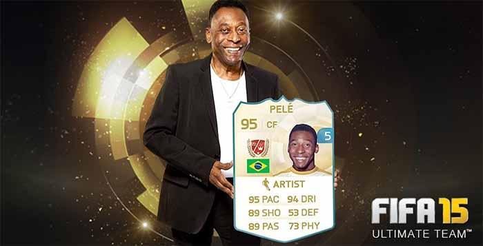 Jogue Gratuitamente com Pelé ou Messi no seu FIFA 15