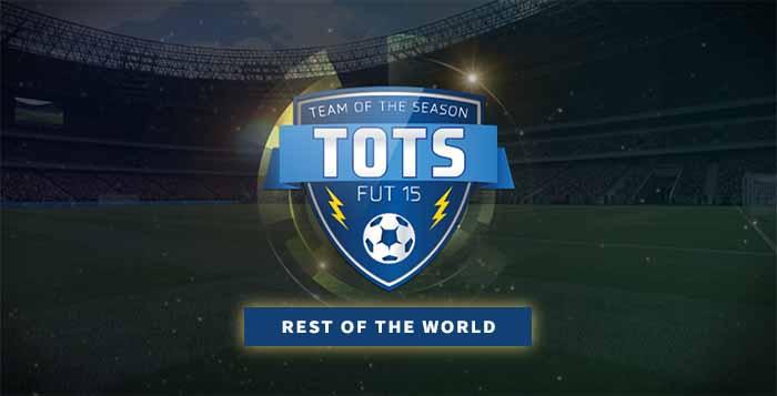 TOTS do Resto do Mundo em FIFA 15 Ultimate Team