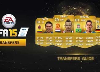 Guia de Transferências de Verão de FIFA 15 Ultimate Team