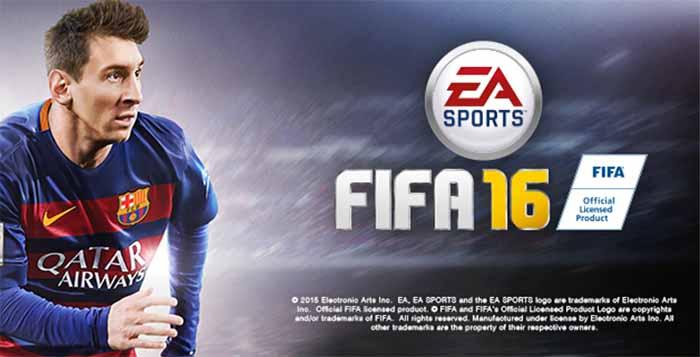 Capa de FIFA 16 - Versão Internacional