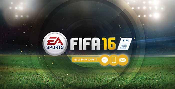 Contactar o Suporte da EA Sports para FIFA 16