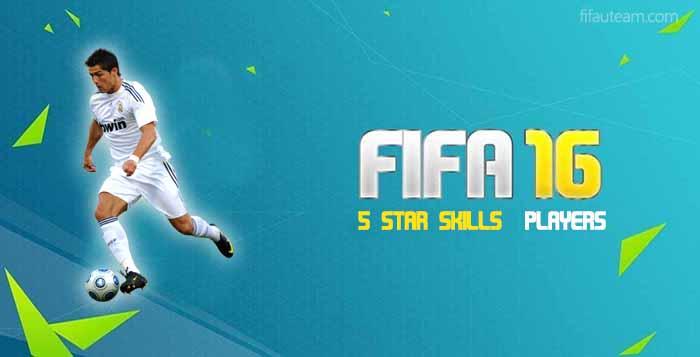 Jogadores 5 Star Skills em FIFA 16 Ultimate Team