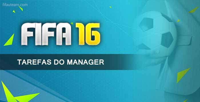 Tutorial das Tarefas do Manager em FIFA 16 Ultimate Team