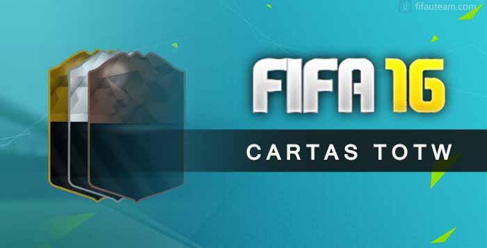 Guia de Cartas TOTW de FIFA 16 Ultimate Team