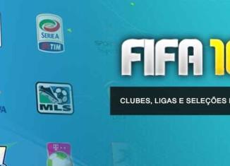 Clubes, Ligas e Seleções Nacionais de FIFA 16