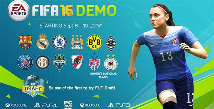 Demo de FIFA 16 - Feedback da Comunidade