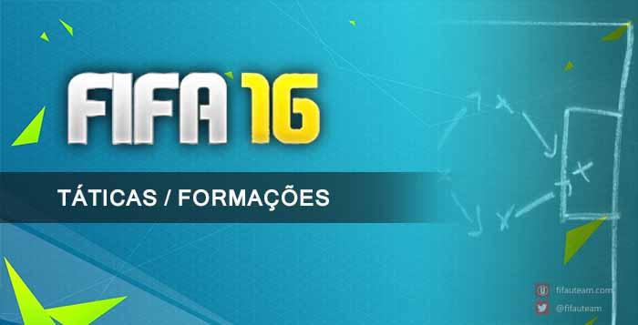 Guia de Táticas / Formações para FIFA 16 Ultimate Team