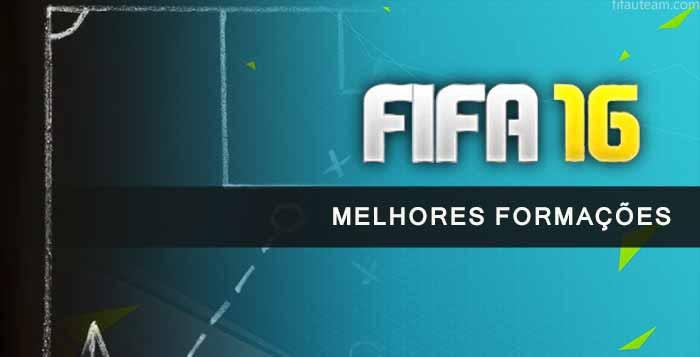 Como Escolher as Melhores Formações de FIFA 16