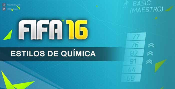 Cartas de Estilos de Química em FIFA 16 Ultimate Team