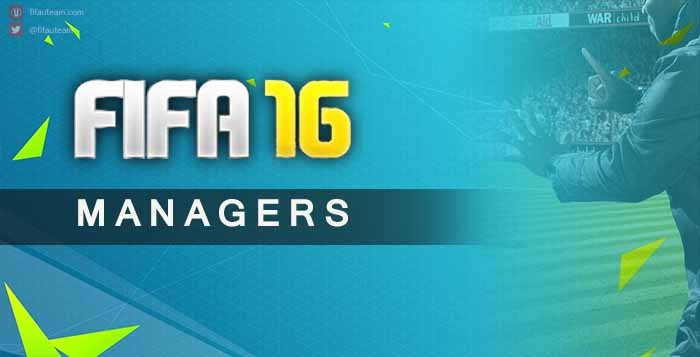Guia de Managers para FIFA 16 Ultimate Team