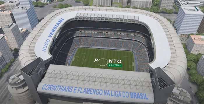 Ponto Central: Corinthians e Flamengo na liga do Brasil