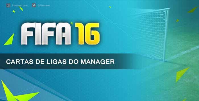 Guia de Cartas de Ligas de Manager para FIFA 16