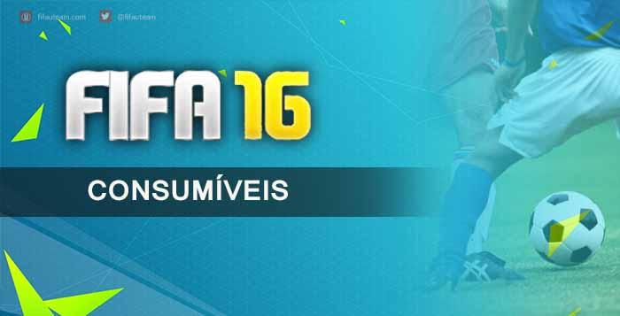 Guia de Consumíveis para FIFA 16 Ultimate Team