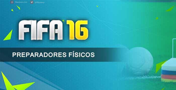 Guia de Preparadores Físicos para FIFA 16 Ultimate Team