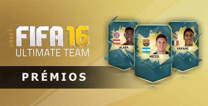 Prémios do FUT Draft para FIFA 16