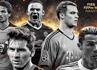 Os Nomeados para a TOTY de FIFA 16 Ultimate Team