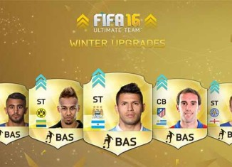 Lista de Upgrades de Inverno de FIFA 16 Ultimate Team