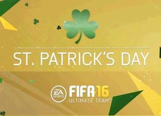 Cartas Verdes de St. Patricks Day em FIFA 16 Ultimate Team