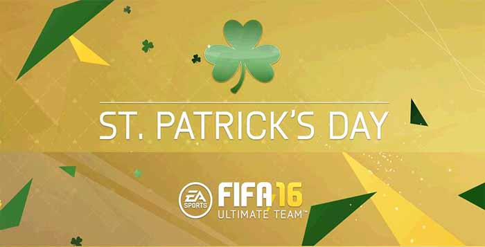 Cartas Verdes de St. Patricks Day em FIFA 16 Ultimate Team