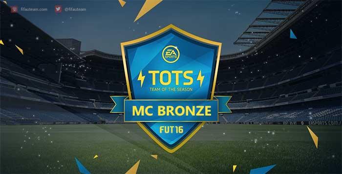 Team of the Season dos Mais Consistentes de Bronze de FIFA 16