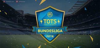 Team of the Season da Bundesliga de FIFA 16