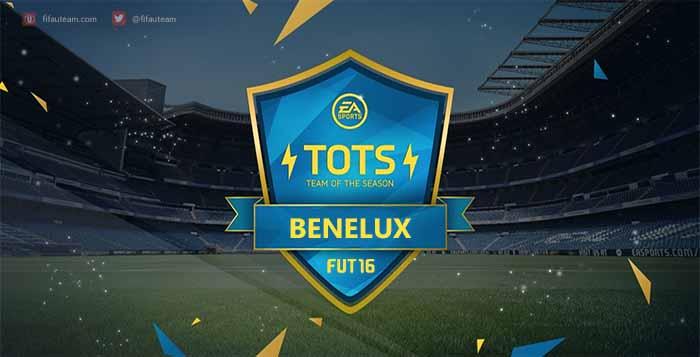Team of the Season da Benelux de FIFA 16