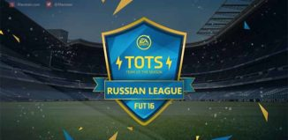 Team of the Season da Liga Russa de FIFA 16