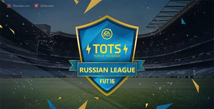 Team of the Season da Liga Russa de FIFA 16