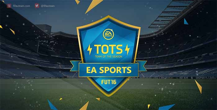 Team of the Season da EA Sports de FIFA 16