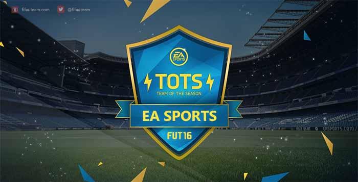 Team of the Season da EA Sports de FIFA 16