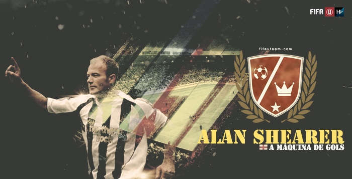 Lendas de FIFA: Alan Shearer, a máquina de gols