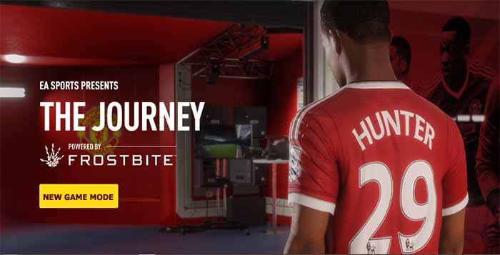 Novo Modo de Jogo de FIFA 17 - A Jornada