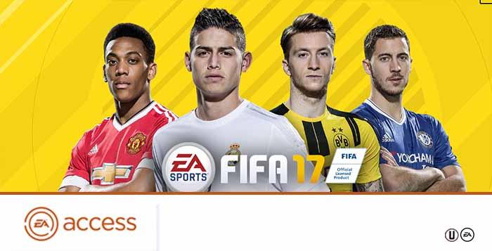 Guia do EA Access para FIFA 17 Ultimate Team