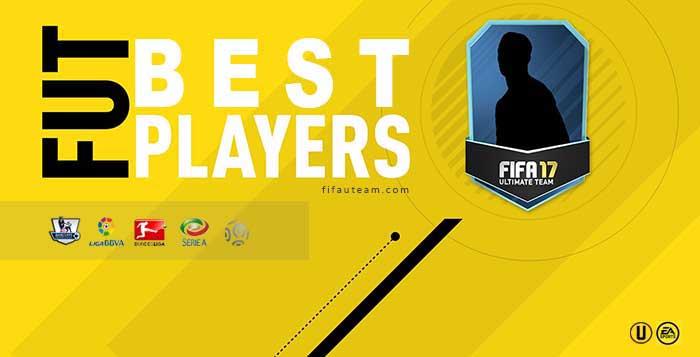 Os Melhores Jogadores de FUT 17 das Maiores Ligas