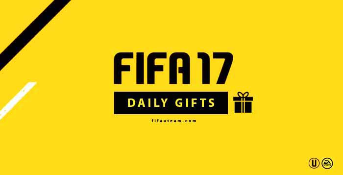 Guia de Daily Gifts em FIFA 17 Ultimate Team