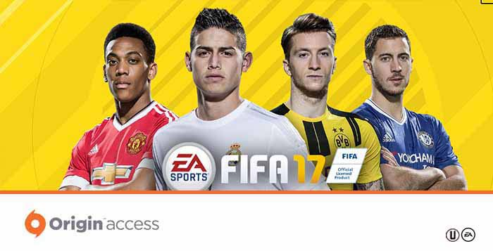 Guia do Origin Access para FIFA 17 Ultimate Team