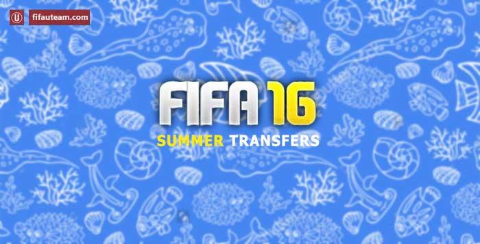 Lista de Transferências de Verão de FIFA 16 Ultimate Team