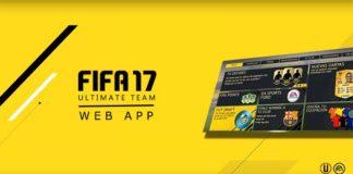 FUT Web App para FIFA 17 - Data, Acesso e Outros Detalhes