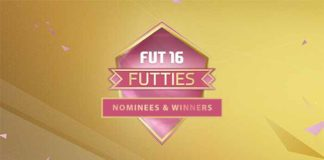 FUTTIES de FIFA 16 Ultimate Team: Lista de Nomeados e Vencedores