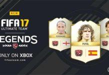 As Dez Novas Lendas de FIFA 17 Ultimate Team