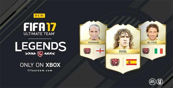 As Dez Novas Lendas de FIFA 17 Ultimate Team